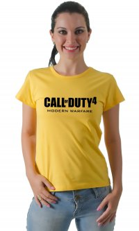 Camiseta Call of Duty 4