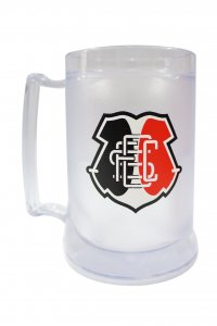 Caneca Gel Incolor 400ml Escudo do Santa Cruz
