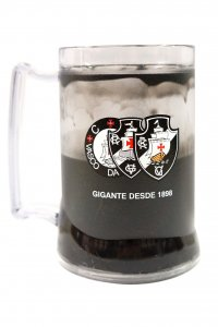 Caneca Gel Preto 400ml 1898 do Vasco